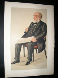 Vanity Fair Print: 1890 John Jaffray, Newspapermen